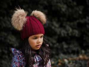 Image of GORRO CANALE 2 POMPONES