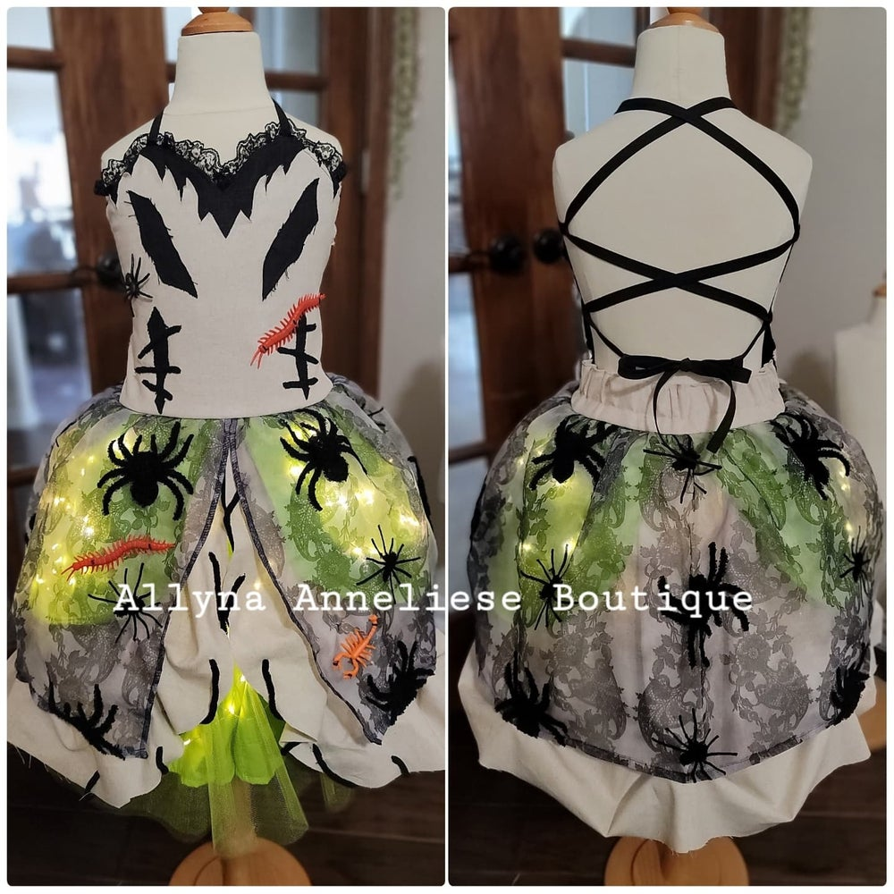 Image of Oogie Boogie Inspired Dress
