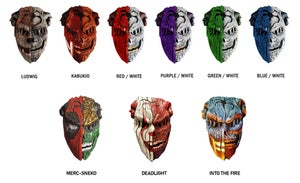 """Image of """"Demon Days"""" Deluxe Mask (Click to view styles)"""
