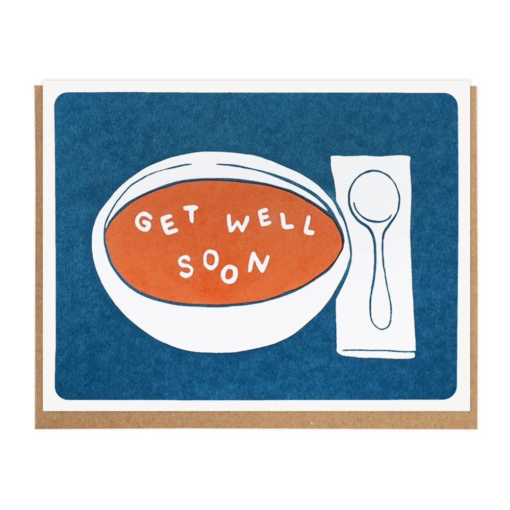 Image of Get Well Soon Soup Card