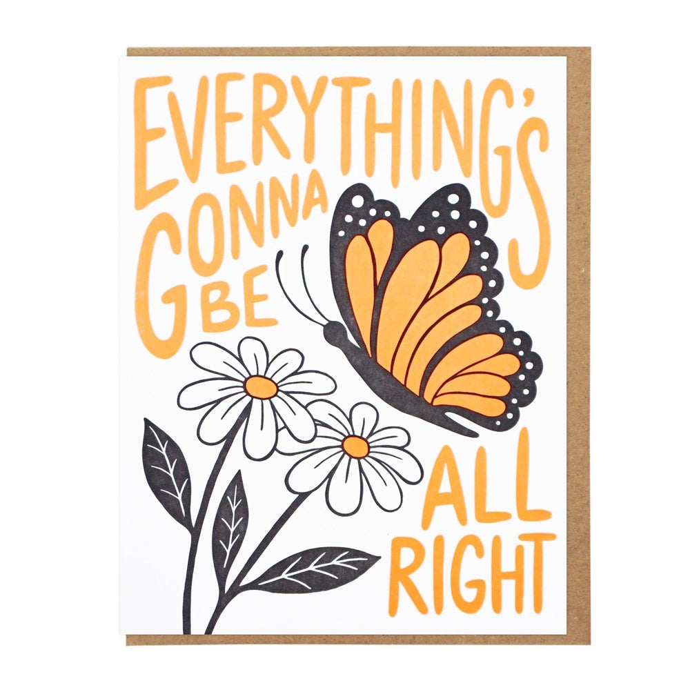 Image of Everything's Gonna Be All Right Card
