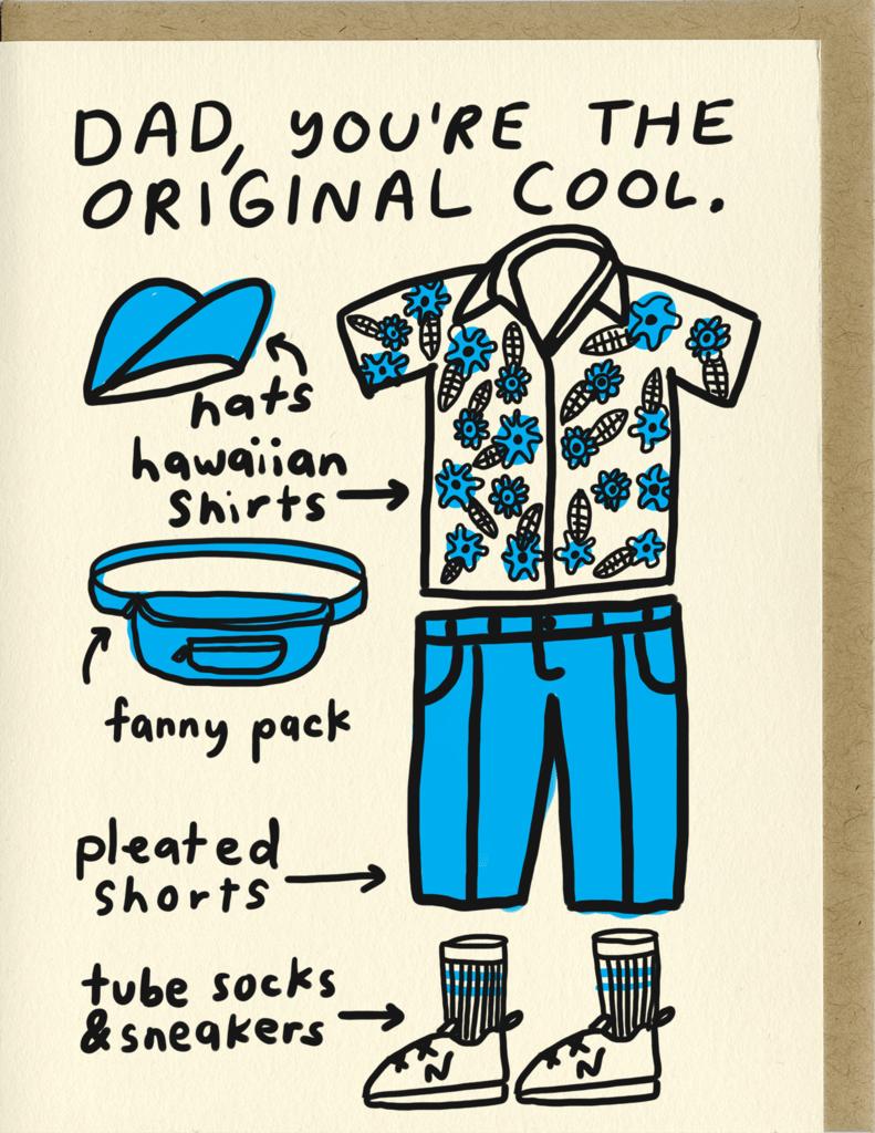 Image of Original Cool Dad Card