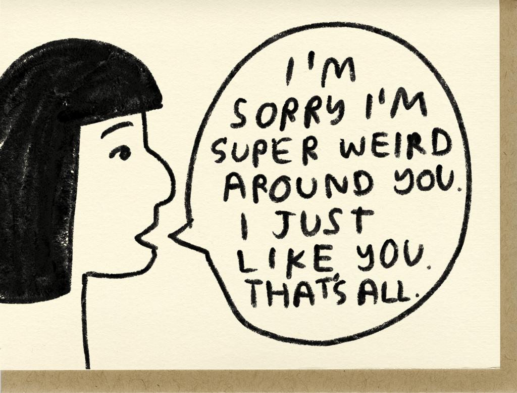Image of Super Weird Card
