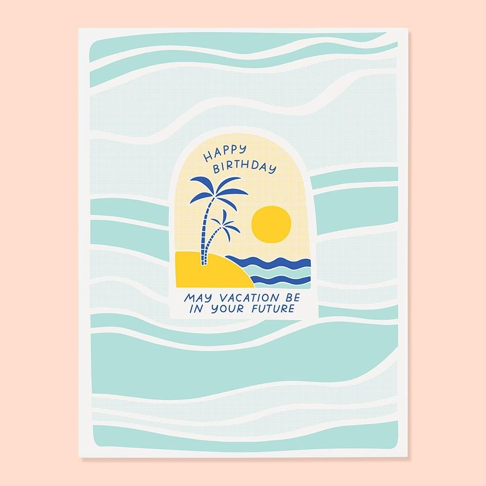 Image of Birthday Vacation Card