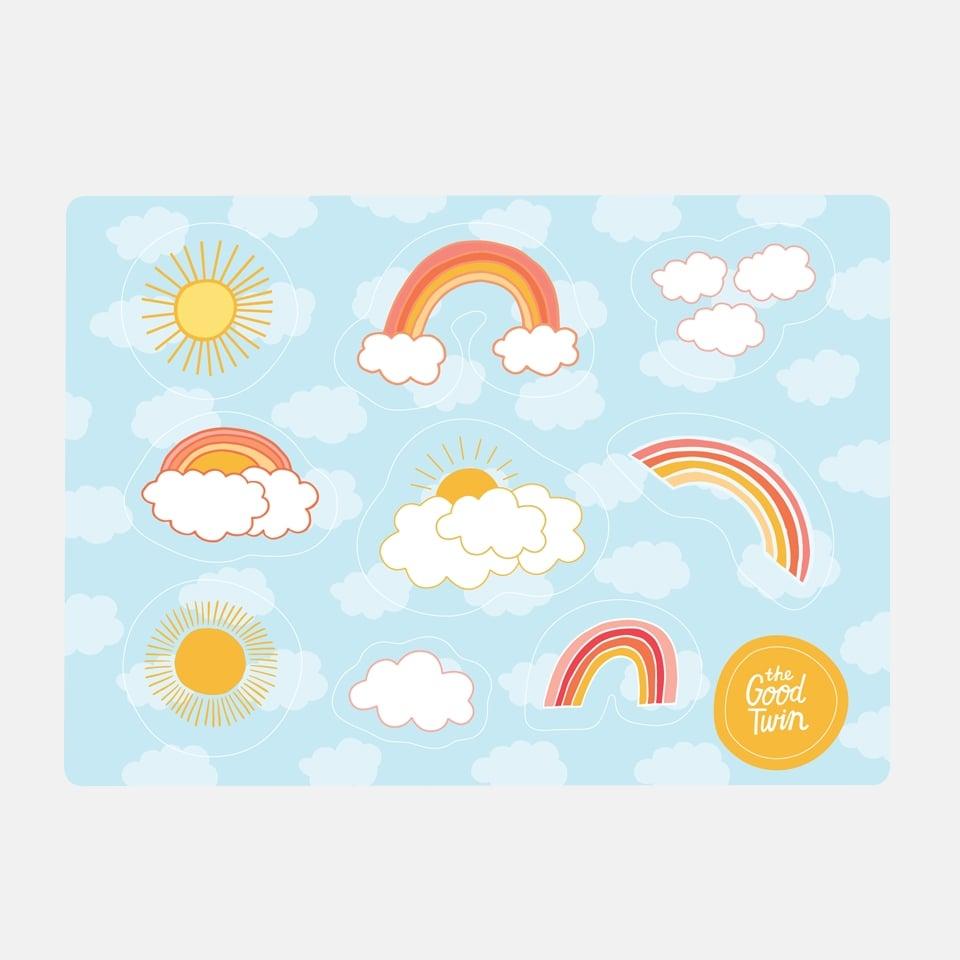Image of Rainbow Sticker Sheet