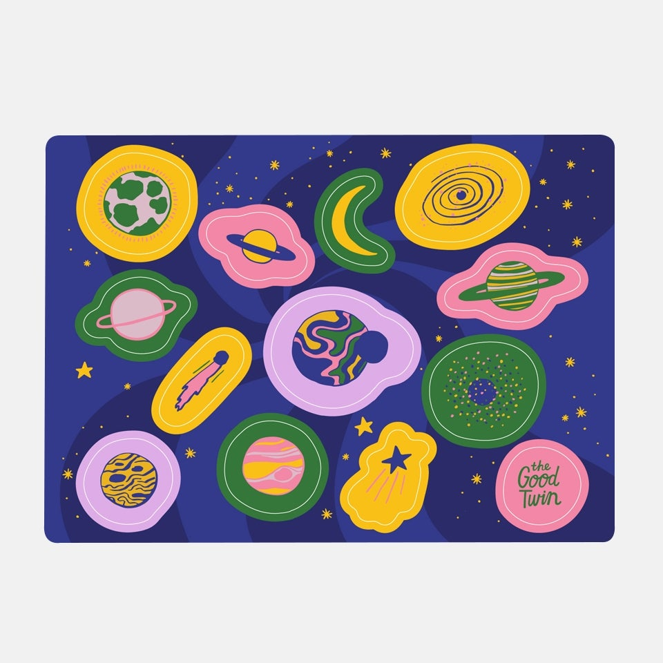 Image of Space Sticker Sheet