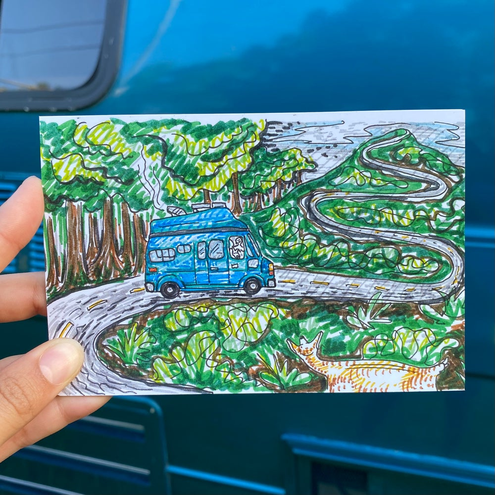 Image of Postcard Print Pack of 4