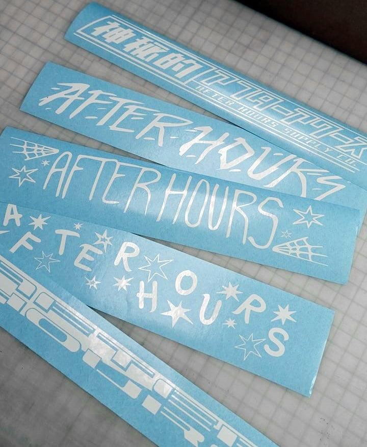 Image of After Hours Window Banners