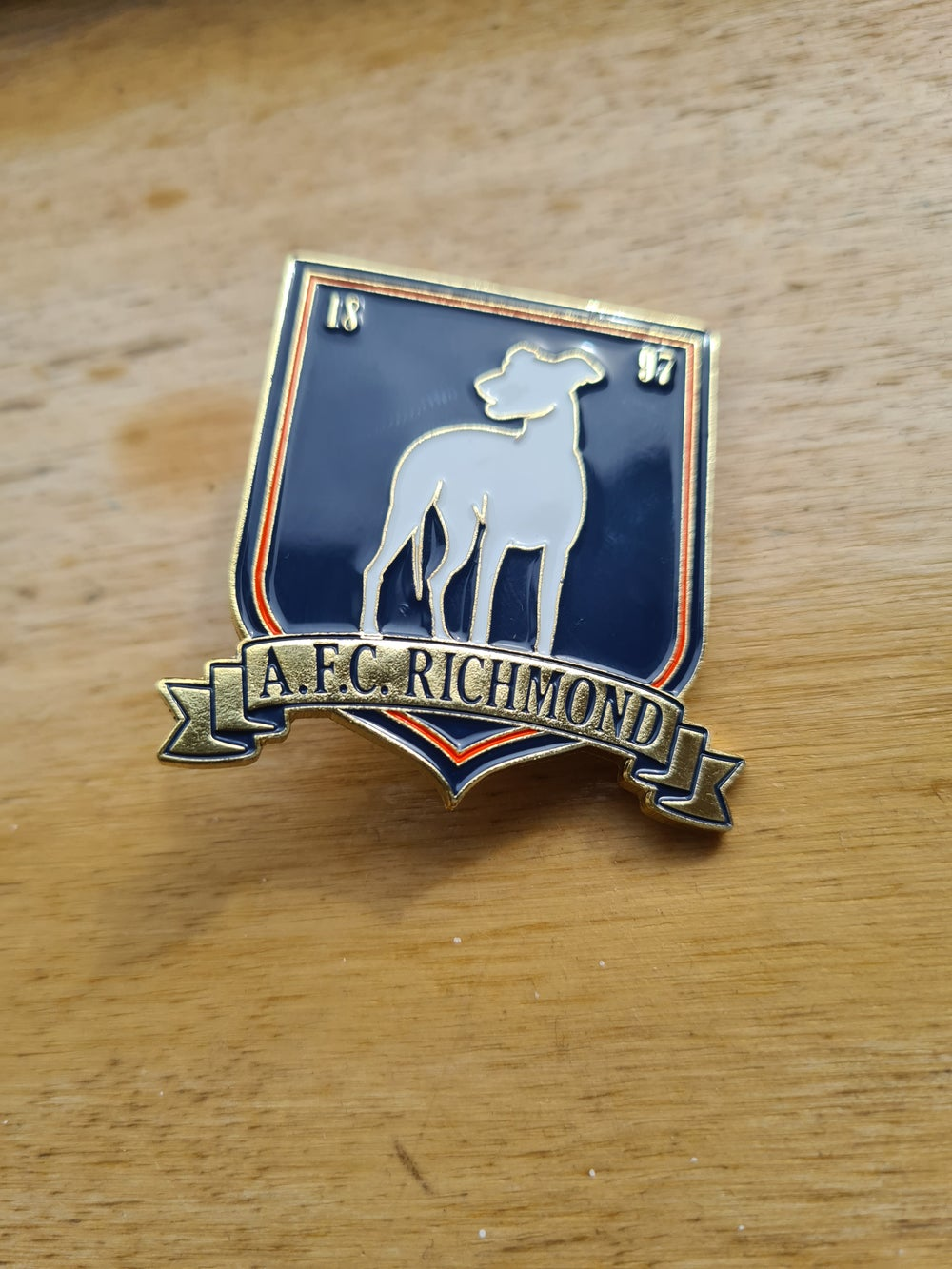Ted Lasso - AFC Richmond Pin Badge + FREE MYSTERY TED LASSO PIN