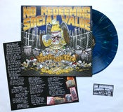 """Image of NO REDEEMING SOCIAL VALUE """"Wasted For Life"""" Vinyl LP"""