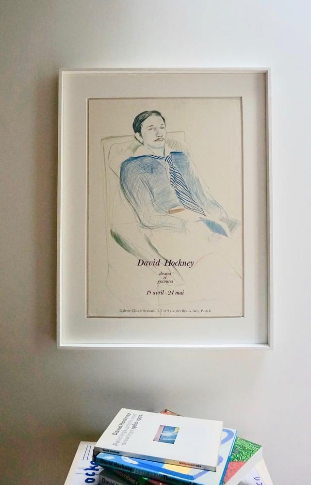 Image of david hockney / man reading / 23/119