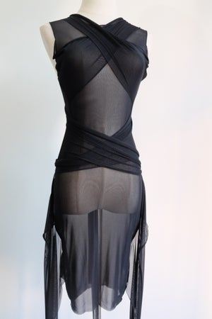 Image of SAMPLE SALE - Unreleased Sheer lace Up Top