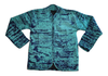 Quilted Adire Jacket (Green & Indigo)