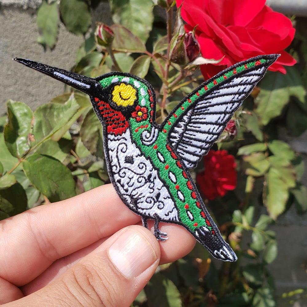 """Hummingbird 3.5"""" Iron-on Patch"""