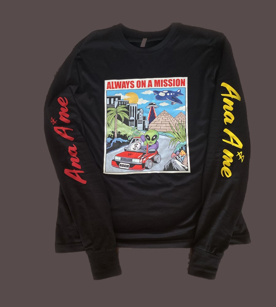 Image of AOAM GRAPHIC LONG-SLEEVE TEE