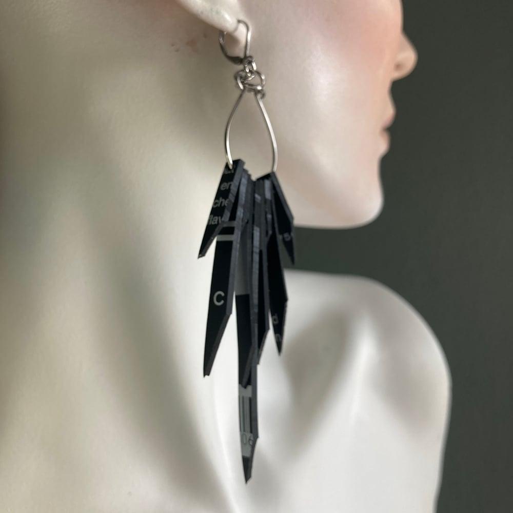 Image of Spirit Fringe Earrings