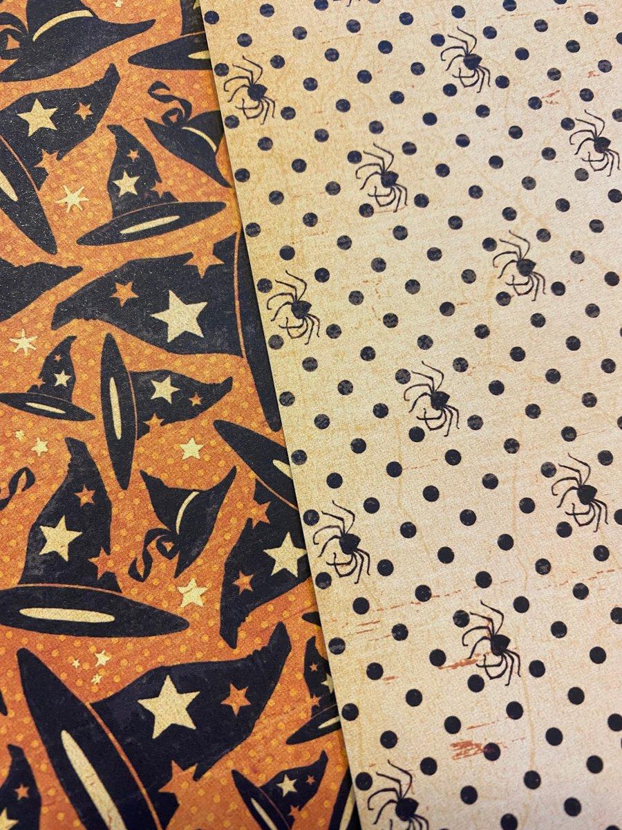 Image of New Paper- Complete Kit- Halloween Victorian Peepshow G45 Happy Haunting