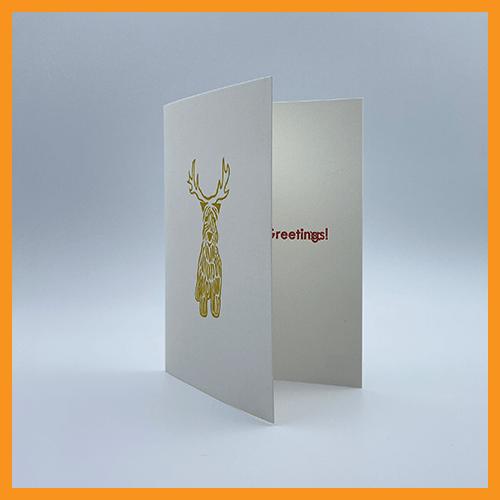 Image of WHEATEN REINDEER - SINGLE CARD