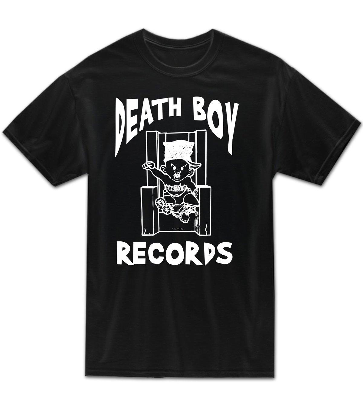 Image of Death Boy Records - TEE
