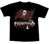 Image of Celph Titled Bucs Flag Logo T-Shirt - Black Tee