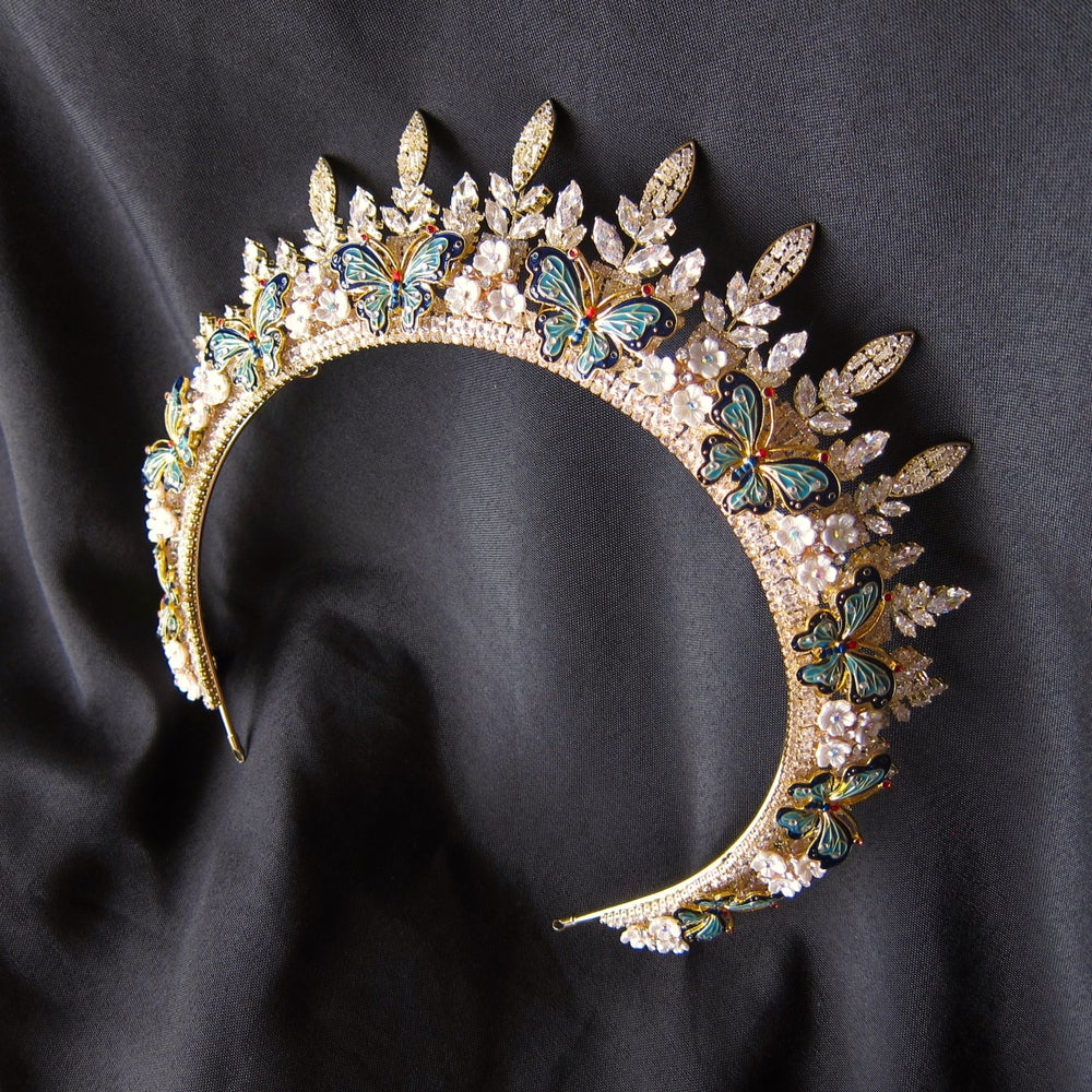 Image of Butterfly Enchantress halo tiara