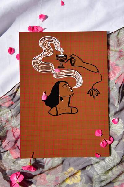 "Image of Print: ""Sambrani"""