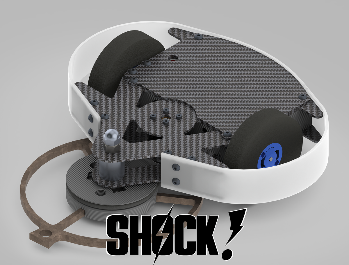 Image of Shock! - 1lb Combat Roobot Kit (and parts)