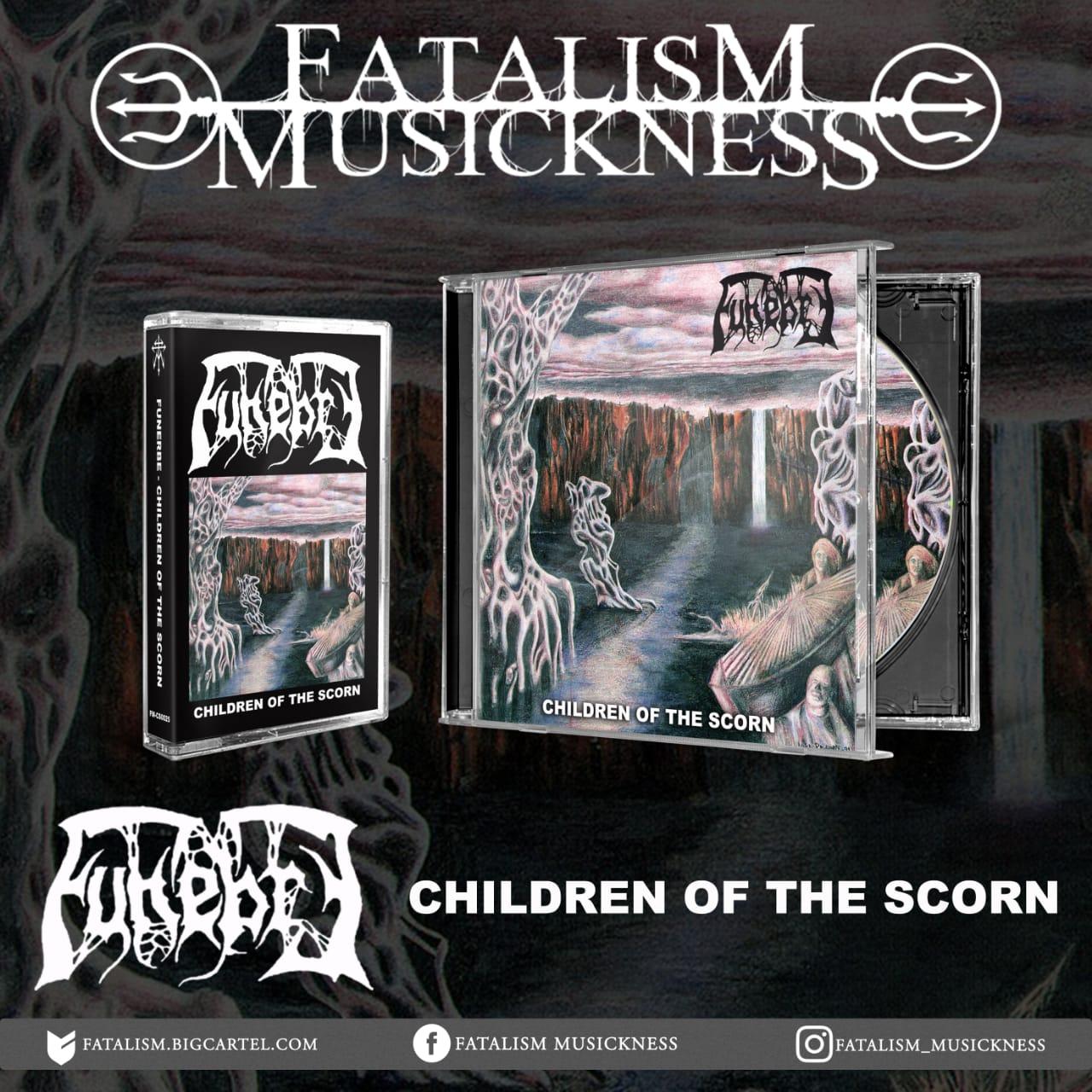 Image of FUNEBRE - Children of The Scorn CD & Tape