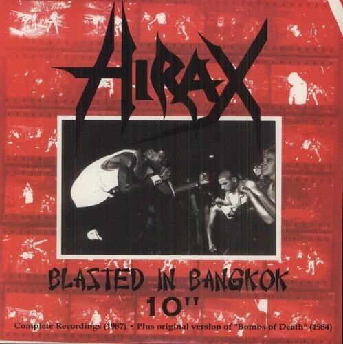 """HIRAX """"Blasted In Bangkok"""" 10"""" LP"""