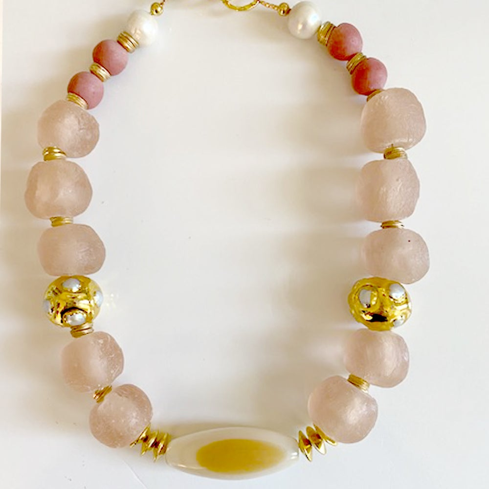 Image of Ulla Necklace in Blush
