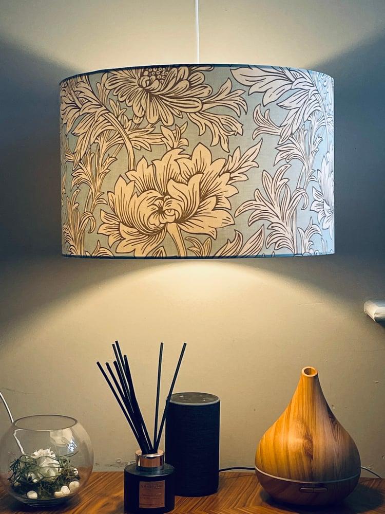Image of Chrysanthemum Toile Sky Shade