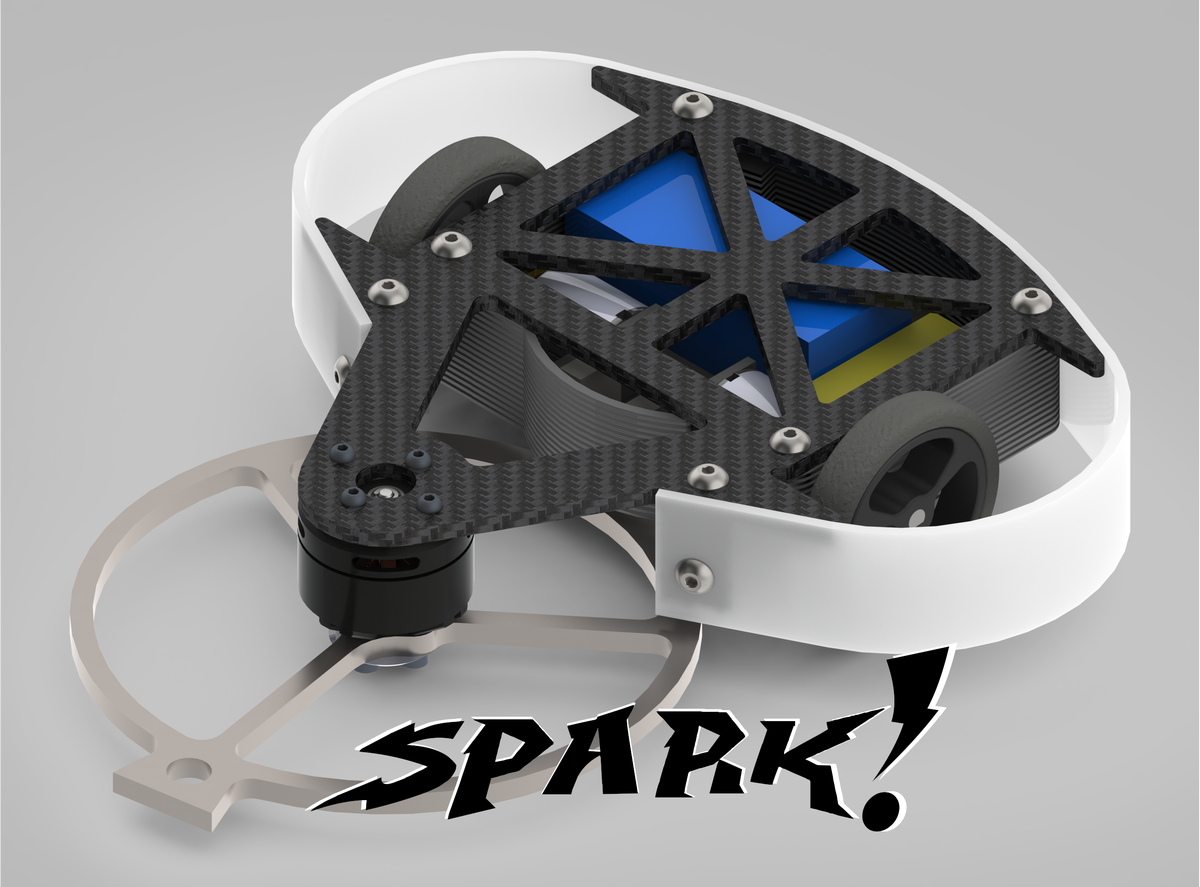 Image of Spark! - 150g Combat Robot Kit (and parts)