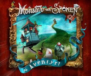 Book - Monster och spöken på äventyr! - Alexander Jansson Shop