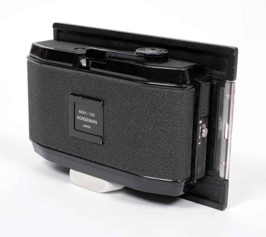 Image of Horseman Universal 6X12 panoramic roll film back for any 4X5 camera