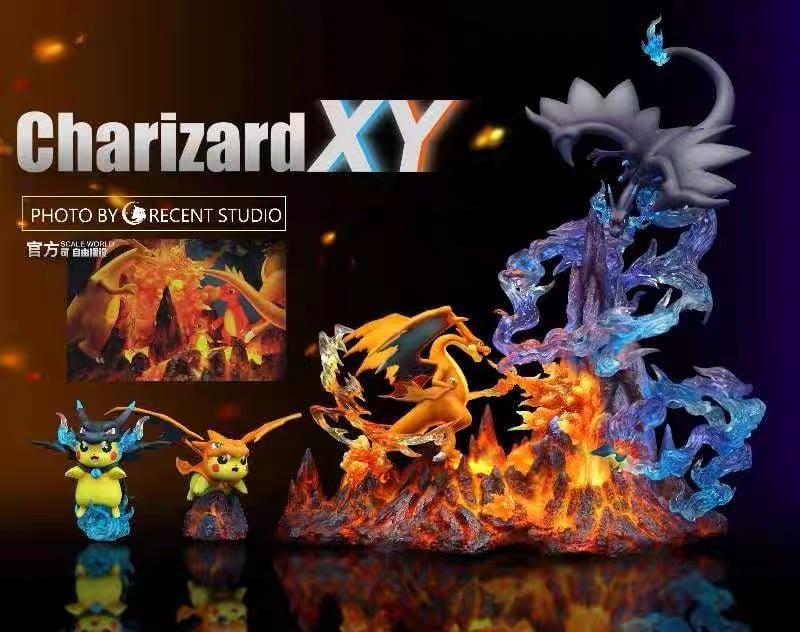 Image of [Last-Stock]Pokemon Crescent Studio Charizard XY Resin Statue