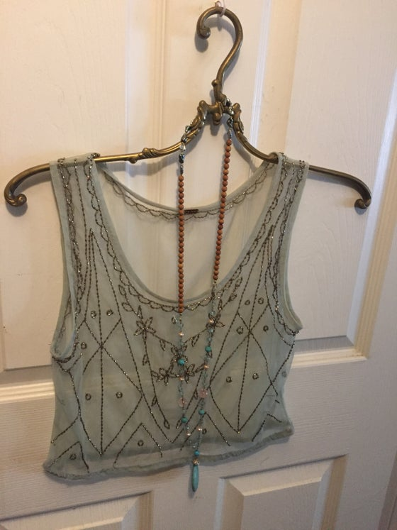 Image of Free people mint green crop camisole