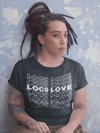 Black LOCS of LOVE Tee shirt
