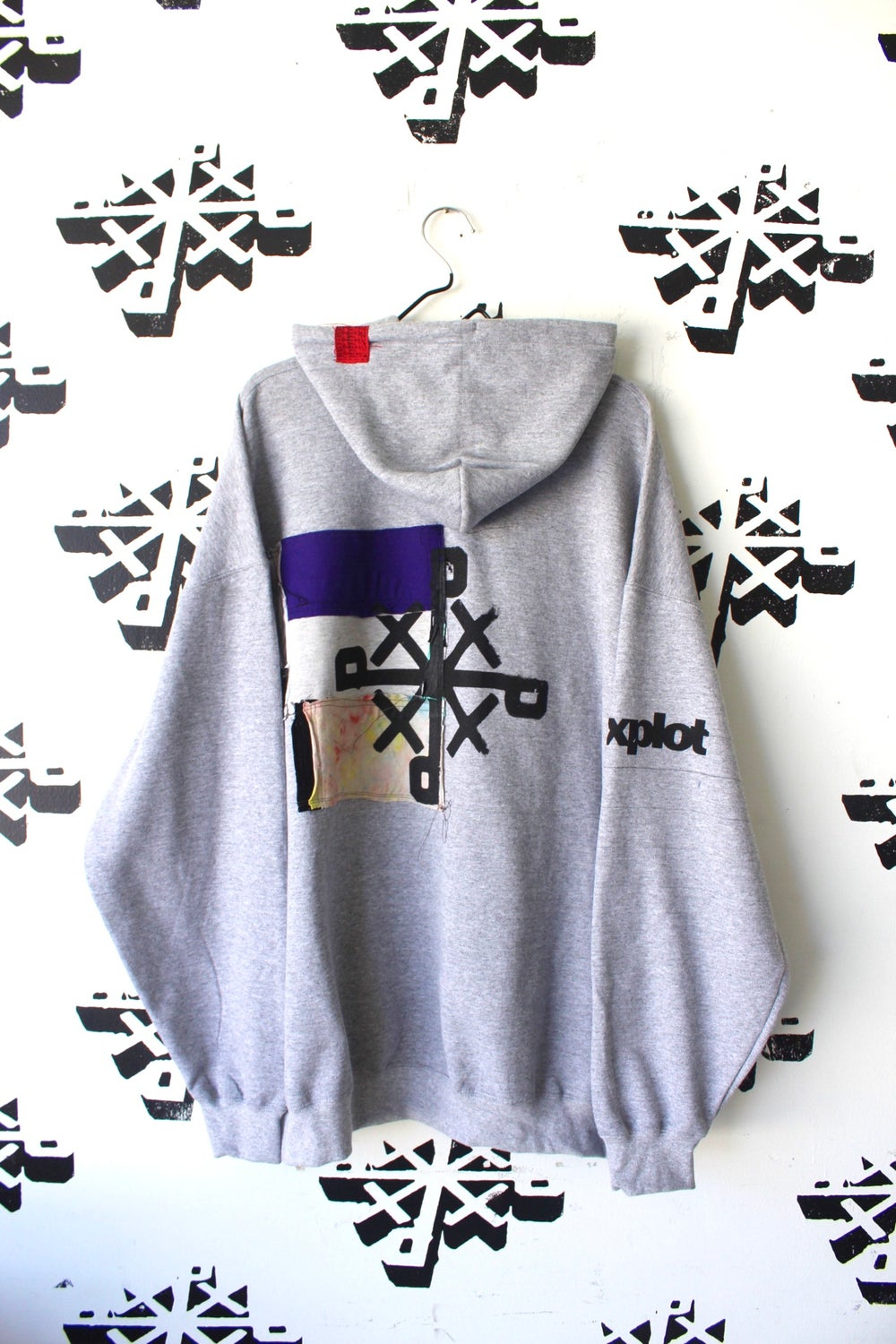 parts and pieces hoodie in gray