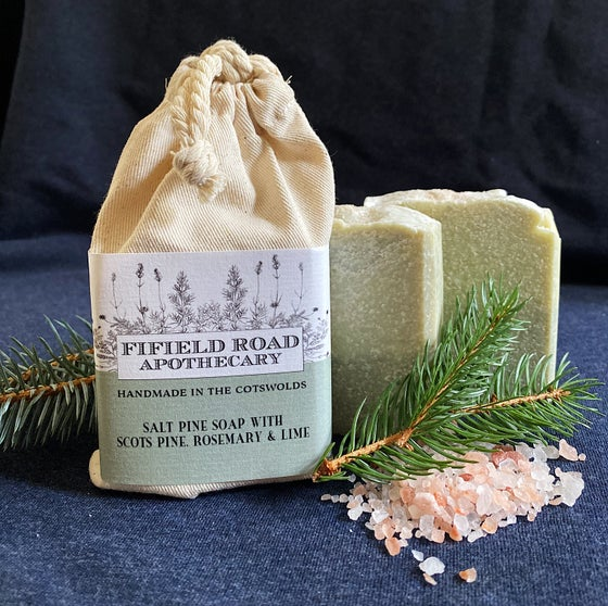 Image of Wildcrafted Salt Pine Soap