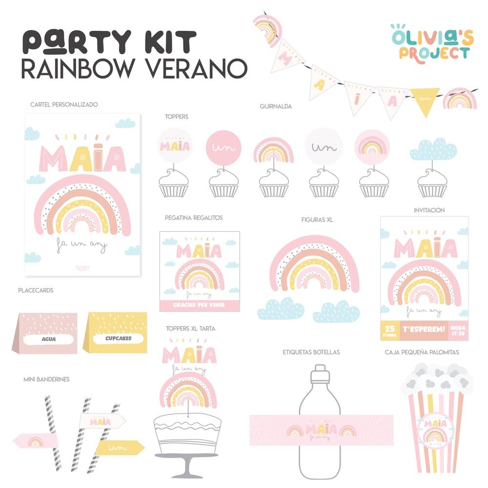 Image of Party Kit Rainbow Verano