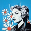 Flower Power - Limited Edition Hand-Embellished Print