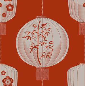 Image of Lucky Lantern - Harvest Orange