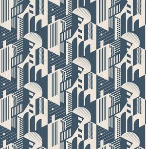 Image of Bauhaus - Washed Denim