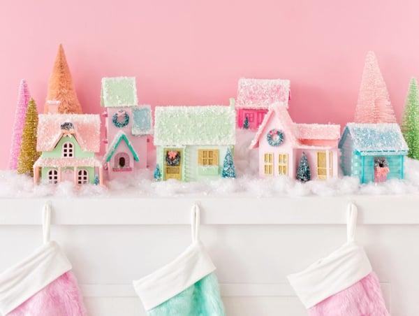 Image of Nov. 20th Christmas Putz Village House Decorating Workshop