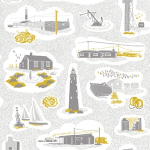 Image of Dungeness Wallpaper - Concrete