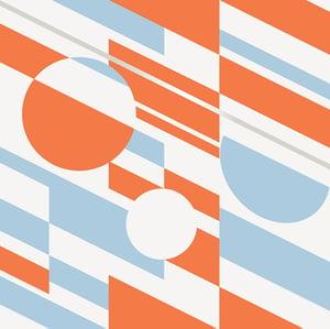 Image of P.L.U.T.O. Wallpaper - Tangerine Dream & Silver