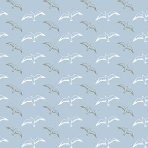 Image of Gulls Wallpaper - British Lichen