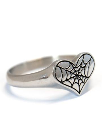 Image of MYSTICUM LUNA Cobweb Ring
