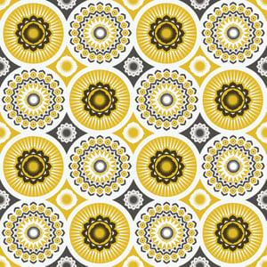 Image of Darjeeling Wallpaper - Mustard