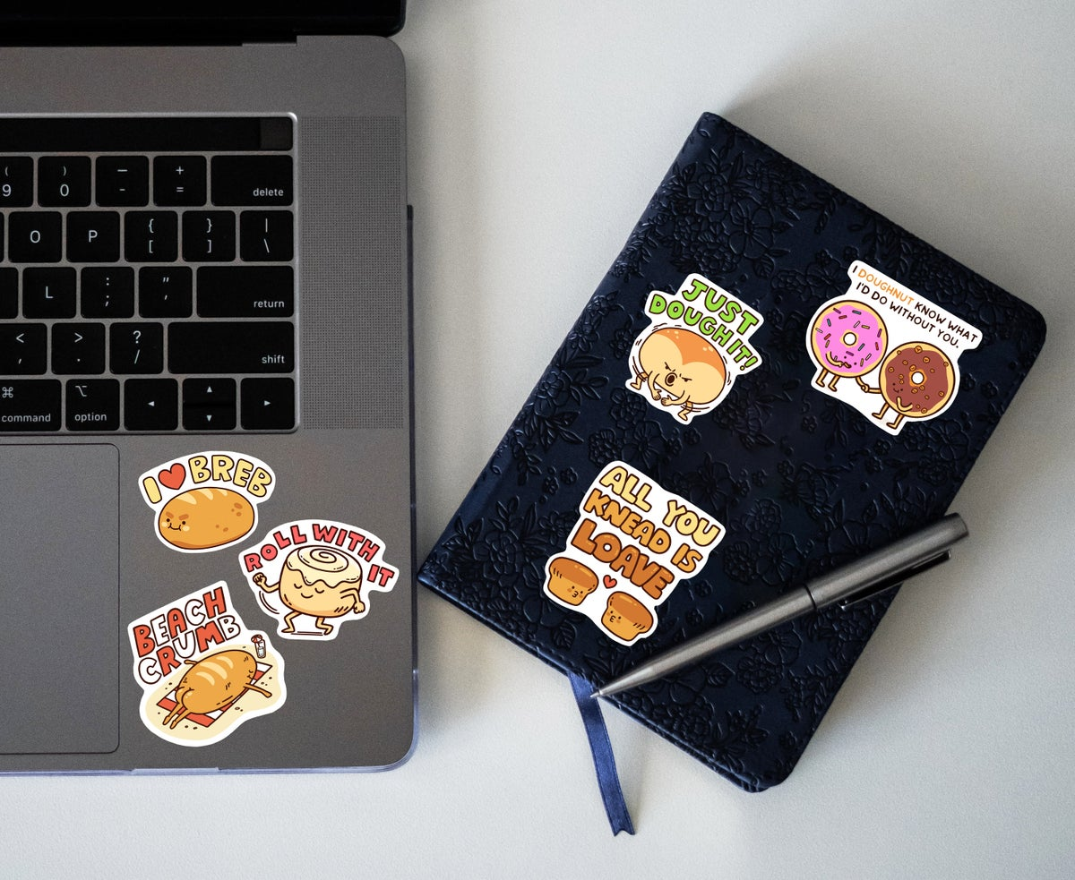 Image of Breb Sticker Set
